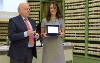 IV Premio OMaR: premiazione di Lidia Scognamiglio