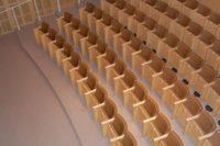 Spalti dell'auditorium dell'Ara Pacis