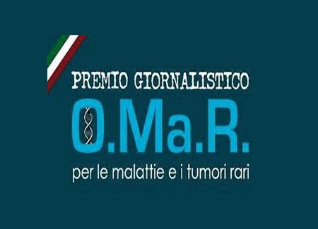 Prima versione del logo del Premio OMaR