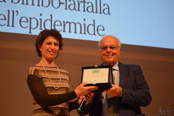 V Premio OMaR: premiazione di Elena Dusi