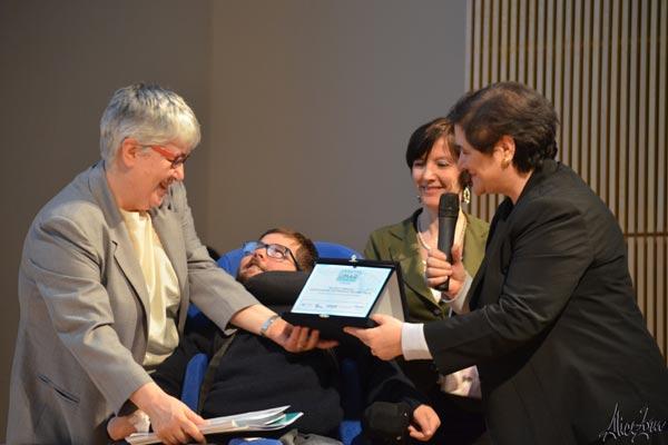 V Premio OMaR: premiazione di Michele Cargiolli e dell'Associazione Famiglie LND