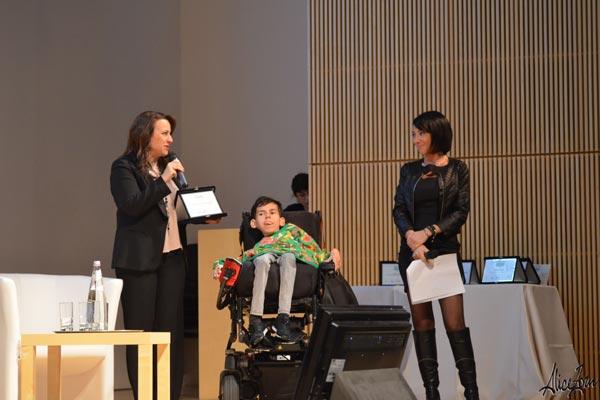 V Premio OMaR: premiazione dell'associazione FamiglieSMA