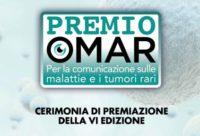 Locandina della cerimonia del VI Premio OMaR