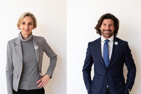 Francesca Ceradini e Francesco Macchia