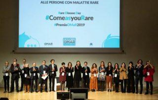 VI Premio OMaR: foto di gruppo