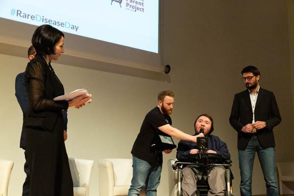 VI Premio OMaR: premiazione di Parent Project